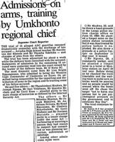 Admissions on arms, training by umkhonto regional chief