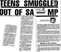 Teens smuggled out of SA-MP