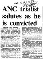 ANC trailist salutes as he is convicted