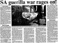 SA guerilla war rages on