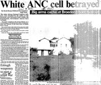 White ANC cell betrayed