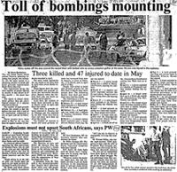 Toll of bombings mounting