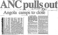 ANC pulls out: Angola camps to close