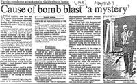 Cause of bomb blast 'a mystery'