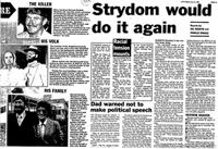 Strydom would do it again