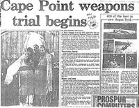 Cape Point weapons trial begins
