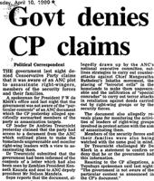 Govt denies CP claims