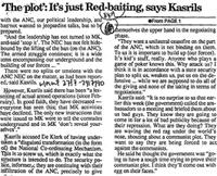 'The plot': It's just red-baiting, says Kasrils
