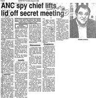 ANC spy chief lifts lid off secret meeting