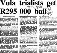 Vula trialists get R295 000 bail