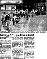 Gifts to ANC go down a bomb