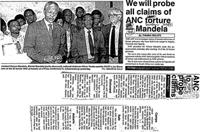 We will probe all claims of ANC torture-Mandela