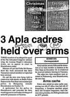 3 apla cadres held over arms