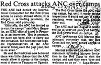 Red Cross attacks ANC over camps