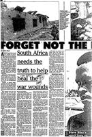South Africa needs the truth to help heal the war wounds
