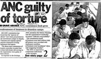 ANC guilty of torture