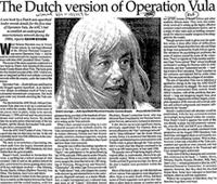 The Dutch version of Operation Vula