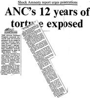 ANC's 12 years of torture exposed