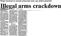 Illegal arms crackdown