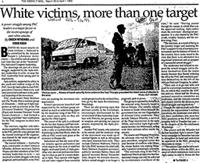 White victims, more than one target