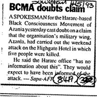 BCMA doubts claim
