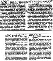 ANC man 'spurned abuses probe'