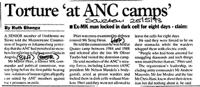 Torture 'at ANC camps'