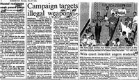 Campaign targets illegal weapons