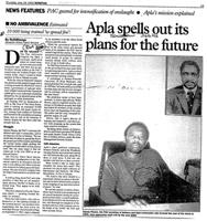 Apla spells out its plans for the future