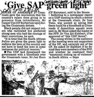 'Give SAP green light'
