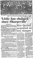 'Little has changed since Sharpeville'