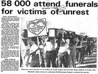 58 000 attend funerals for victims of unrest