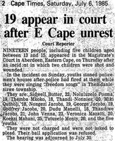 19 appear in court after E Cape unrest