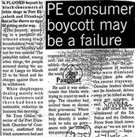 PE consumer boycott may be a failure