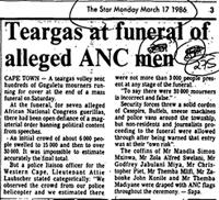 Teargas at funeral of alleged ANC men