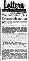 We condemn this Crossroads action