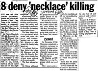 8 deny 'necklace' killing