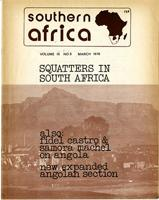 Southern Africa, Vol. 9, No. 5