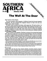 Southern Africa, Vol. 15, No. 1
