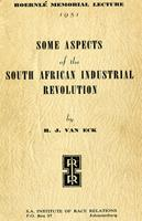 Some aspects of the South African industrial revolution