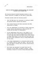 Notes on meeting between Director-General and President Savimbi, Oct. 26, 1988