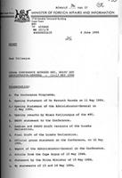 Lusaka conference between MPC, SWAPO and Administrator-General, May 11 - 13, 1984