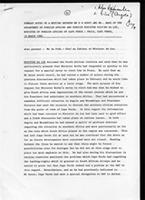 Summary notes of a meeting between Mr. D. W. Auret and Mr. Marx of the Department of Foreign Affairs and Foreign Minister, Silvino da Luz, Minister of Foreign Affairs of Cape Verde: Praia, Cape Verde, 19 March 1986