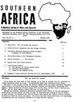 Southern Africa, Vol. 2, No. 1