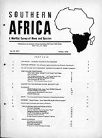 Southern Africa, Vol. 3, No. 8
