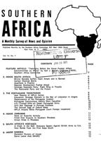 Southern Africa, Vol. 4, No. 1