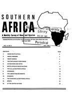 Southern Africa, Vol. 4, No. 5
