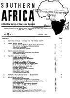 Southern Africa, Vol. 4, No. 6