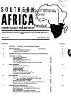 Southern Africa, Vol. 4, No. 7