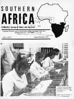 Southern Africa, Vol. 5, No. 7